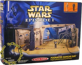 Star Wars Micro Machines Episode I Podracer Hanger Bay