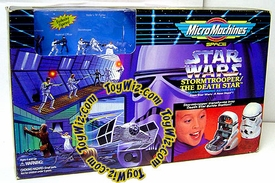 Star Wars Micro Machines Stormtrooper Death Star Transforming Action Set Incomplete with Box