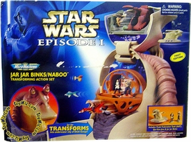 Star Wars Micro Machines Transforming Playset Jar Jar Binks/ Naboo
