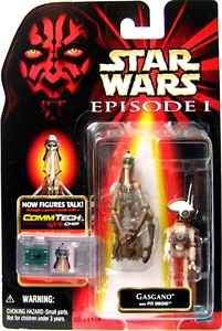 Star Wars Phantom Menace Action Figure Gasgano [with Pit Droid]