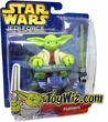 Star Wars Playskool Jedi Force Figure Yoda with Swamp Stomper