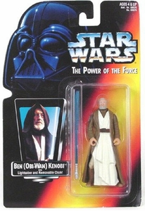 Star Wars POTF2 Power of the Force Red Card Ben (Obi-Wan) Kenobi