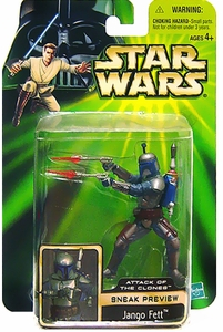 Star Wars Power Of The Jedi Attack of the Clones Sneak Preview Jango Fett