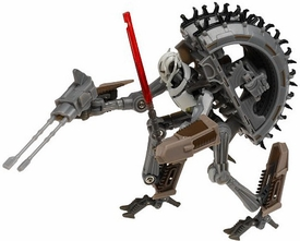 Star Wars Saga '06 Transformers Action Figure General Grievous to Wheel Bike