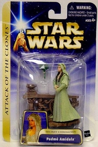 Star Wars Saga 2004 Attack of the Clones #22 Padme Amidala Secret Ceremony