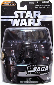 Star Wars Saga 2006 Basic Action Figure #66 R4-K5 Vader's Astromech