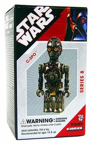 Star Wars Tomy Kubrick Series 8 C-3PO