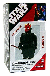 Star Wars Tomy Kubrick Series 8 Darth Maul