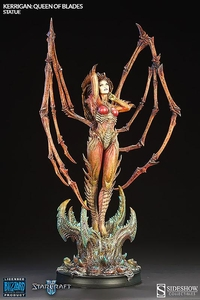 Starcraft II Sideshow Collectibles Statue Kerrigan Queen of Blades Pre-Order ships March