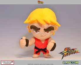 Street Fighter Gaming Heads Plush Ken Pre-Order ships October