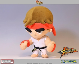 Street Fighter Gaming Heads Plush Ryu Pre-Order ships October