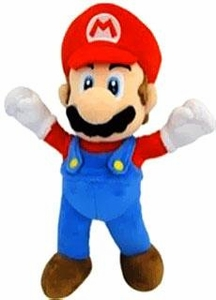 Super Mario 10 Inch Bendable Plush Mario Pre-Order ships August