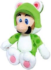 Super Mario 10 Inch Plush Cat Luigi Pre-Order ships August