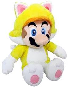Super Mario 12 Inch Plush Cat Mario Pre-Order ships August
