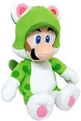 Super Mario 14 Inch Plush Cat Luigi Pre-Order ships July