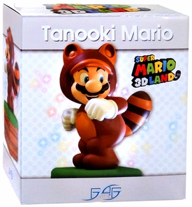 Super Mario 3D Land Statue Tanooki Suit Mario New!