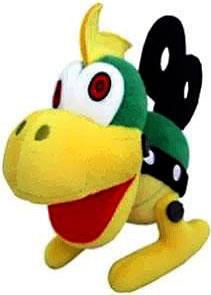 Super Mario 6 Inch Plush Mecha-Koopa New!