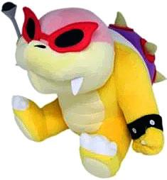 Super Mario 6 Inch Plush Roy Koopa New!
