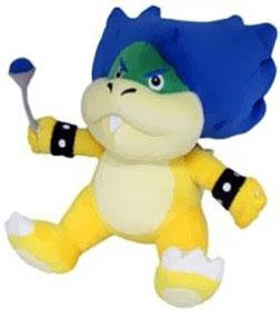 Super Mario 7 Inch Plush Ludwig Von Koopa Pre-Order ships September