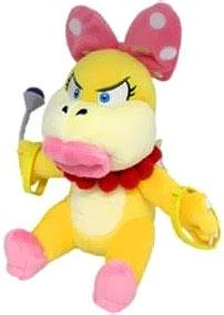 Super Mario 7 Inch Plush Wendy Koopa New!