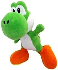 Super Mario 8 Inch Bendable Plush Yoshi Pre-Order ships July