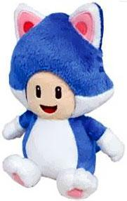 Super Mario 8 Inch Plush Cat Toad Pre-Order ships July