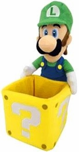 Super Mario 9 Inch Plush Luigi & Coin Box Pre-Order ships July