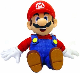 Super Mario Brothers BanPresto 7 Inch Plush Mario with Vinyl Hands, Head & Feet