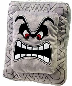 Super Mario Brothers Plush Pillow Thwomp