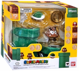 Super Mario Brothers S.H. Figuarts Action Figure Diroama Play Set B