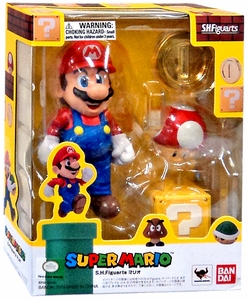 Super Mario Brothers S.H. Figuarts Action Figure Super Mario New!