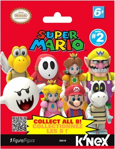 Super Mario K'NEX #38418 Series 2 Mini Figure Mystery Pack [1 RANDOM Figure]