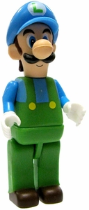 Super Mario K'NEX LOOSE Mini Figure Ice Luigi