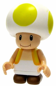 Super Mario K'NEX LOOSE Mini Figure Yellow Toad
