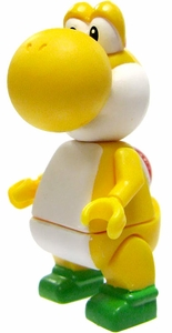 Super Mario K'NEX LOOSE Mini Figure Yellow Yoshi