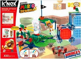 Super Mario K'NEX Set #38635 Cat Mario Pre-Order ships August