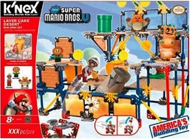 Super Mario K'NEX Set #38636 Layer Cake Desert Pre-Order ships August