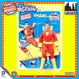 Super Powers Retro 8 Inch Series 1 Action Figures Shazam Pre-Order ships July