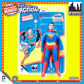 Super Powers Retro 8 Inch Series 1 Action Figures Superman Pre-Order ships August
