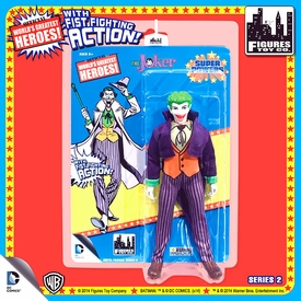 Super Powers Retro 8 Inch Series 2 Action Figures Joker Pre-Order ships July