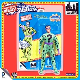 Super Powers Retro 8 Inch Series 2 Action Figures Riddler Pre-Order ships November