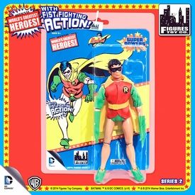Super Powers Retro 8 Inch Series 2 Action Figures Robin Pre-Order ships August