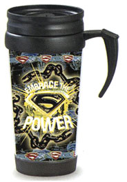 Superman Returns Movie Travel Tumbler