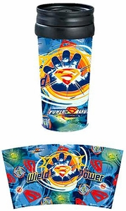Superman Returns Movie Travel Tumbler Wield The Power