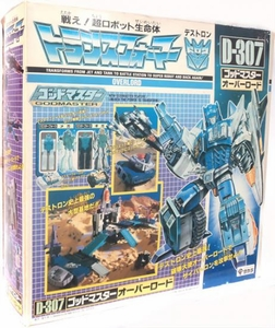 Takara Transformers Super-God Masterforce D-307 Action Figure Overlord [Japanese Release] RARE!