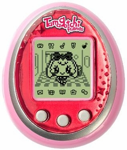 Tamagotchi Friends Virtual Pet Pink Diamond Gem Pre-Order ships August