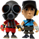 Team Fortress 2 Portable Mercs!