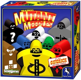 Ted Alspach's Mutant Meeples Board Game  [with Sidekick Expansion] New!