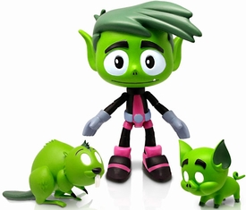 Teen Titans Go! 5 Inch Action Figure Beast Boy Pre-Order ships August
