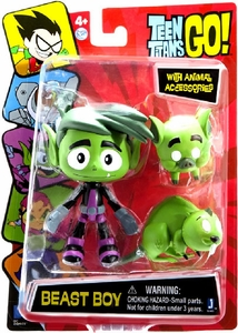 Teen Titans Go! 5 Inch Action Figure Beast Boy New!